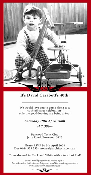 David1 print invite