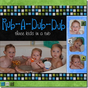 rub-a-dub