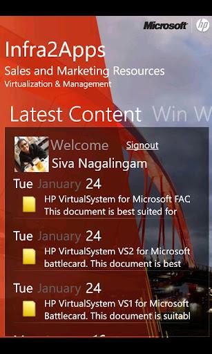HP Microsoft I2A Sales