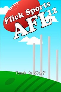 Flick Sports AFL 2012 - screenshot