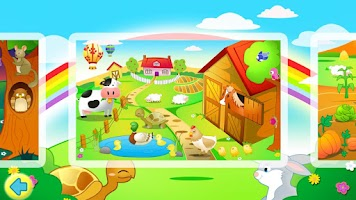 Screenshot of Kids Jigsaw Puzzles Farm Free
