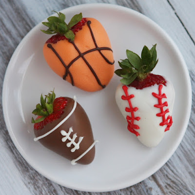 Sports- Dipped Strawberries