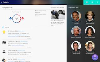 Screenshot of Samsung WatchON (Tablets)