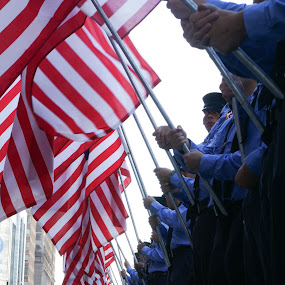 Flags by VAM Photography - People Street & Candids ( flags, event, nyc, places, run, people,  )