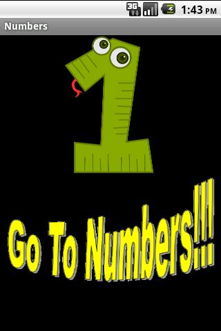 Numbers Learning