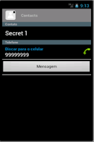 Screenshot of Secret Contacts