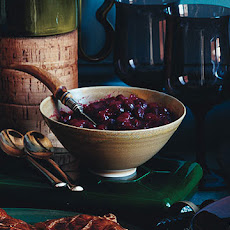Cranberry Sauce with Dates and Orange