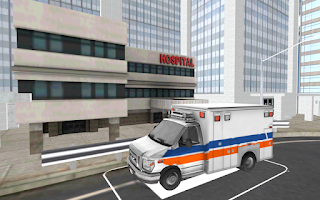 Screenshot of Ambulance Parking 3D
