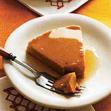 Sweet Potato Buttered Rum Flan