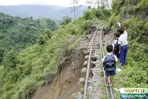Scary Railway