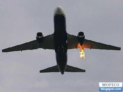 Burn Out Plane