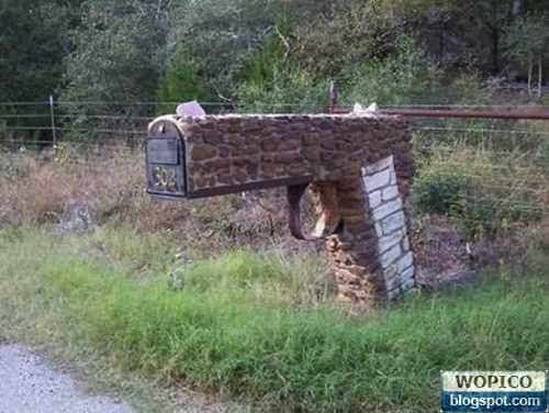 Unique Mail Box