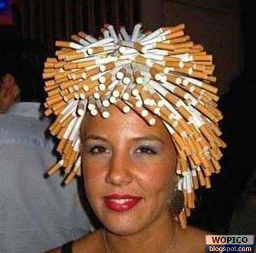 Cigarette Hair