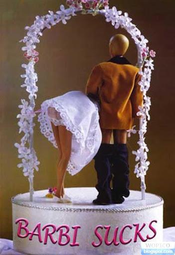 Odd Wedding Cake