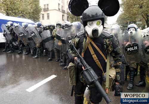 Funny Police Riot Outfit