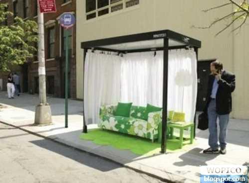 Unique Bus Stop