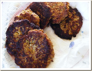 Zucchini No-Crab Cakes