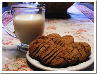 Ginger Snaps and Milk
