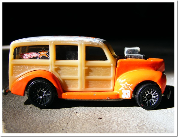 Hot Wheels Woody