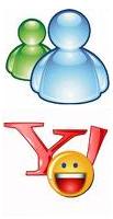Yahoo-MSN-Messenger-Logos