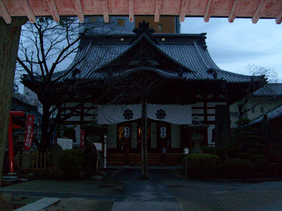 Saiko-Ji Temple in the last of the light
