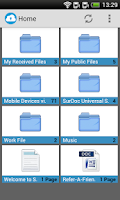 Screenshot of SurDoc – 100GB+ FREE storage