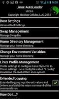 Screenshot of Linux AutoLoader