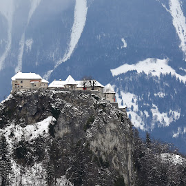 Castle on the cliff by Almas Bavcic - Buildings & Architecture Other Exteriors