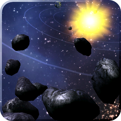 Asteroid Belt Live Wallpaper 個人化 App LOGO-APP試玩