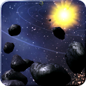 Asteroid Belt Live Wallpaper
