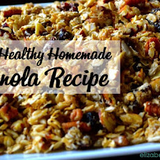 Easy Healthy Homemade Granola