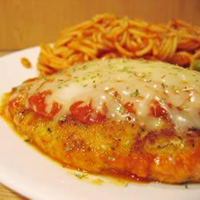 Parmesan-Coated Italian Chicken Breasts