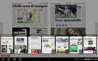 Screenshot of Tuttosport HD