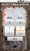 Screenshot of Grenade Timer