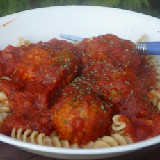 Kittencal's Low-Fat Parmesan Turkey Meatballs