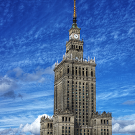Palace of Culture and Science, Warsaw by Mike Bing - Buildings & Architecture Public & Historical ( tall buildings, hdr, sovjet, architecture, panorama, warsaw, poland )