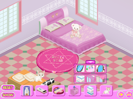 Screenshot of Decorating Game - My Cosy Room