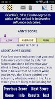 Screenshot of Cognitive Styles CBT Test