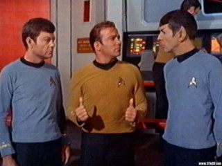 McCoy, Kirk e Spock