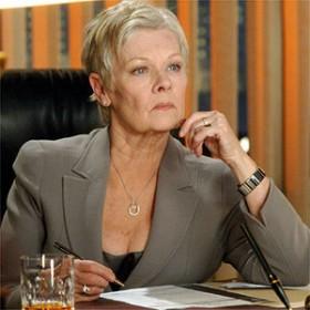 Judi Dench (M)