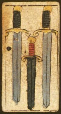3 de Espadas, séc. XVII