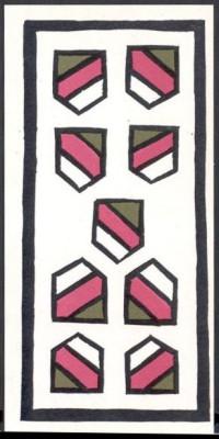 9 de Escudos, séc XIX