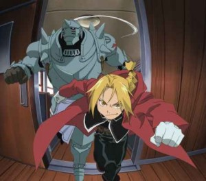 Alphonse e Edward Elric