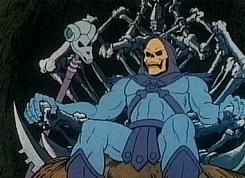 Esqueleto no desenho original
