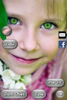 Screenshot of Eye Color Booth Pro