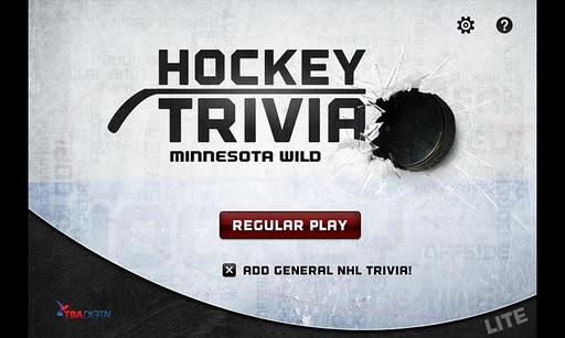 Hockey Trivia Lite-Wild