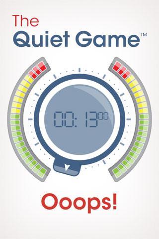 【免費娛樂App】The Quiet Game-APP點子