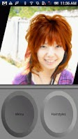 Screenshot of Try Hairstyle