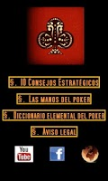Screenshot of Consejos de Poker Texas Holdem