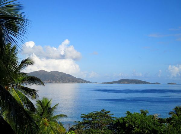 Tortola Ocean and Hill